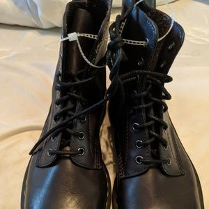 Dr. Martens Shoes - Brand new brown Dr. Martens Airwair lace up boots